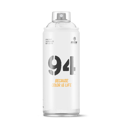 MTN 94 R-9010 Blanco 400ml - Crack Kids Lisboa