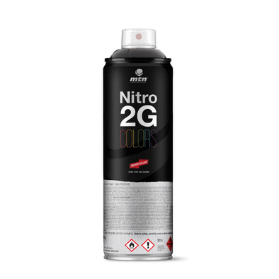 MTN 2G COLORES Negro R-9011 500ml - Crack Kids Lisboa