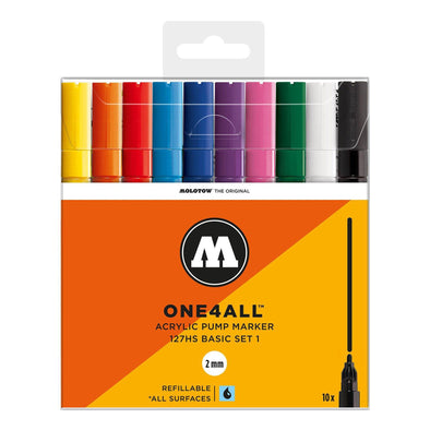 Molotow One 4 All 127 HS Main 10x marker set Basic 1