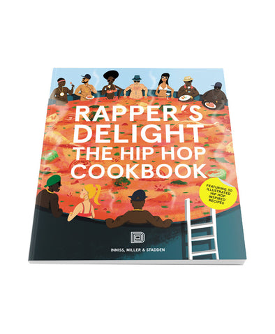 Rapper's Delight - The Hip Hop Cook Book - Crack Kids Lisboa