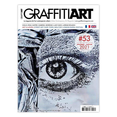 Graffiti Art #53 - France Urban Media Magazine - Crack Kids Lisboa