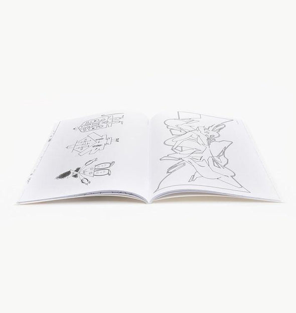 Graffiti Coloring Book by Uzi - Crack Kids Lisboa