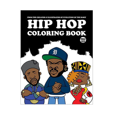 Hip Hop Colouring Book - Crack Kids Lisboa