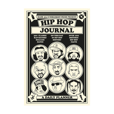 Hip Hop Journal - A Daily Planner - Crack Kids Lisboa