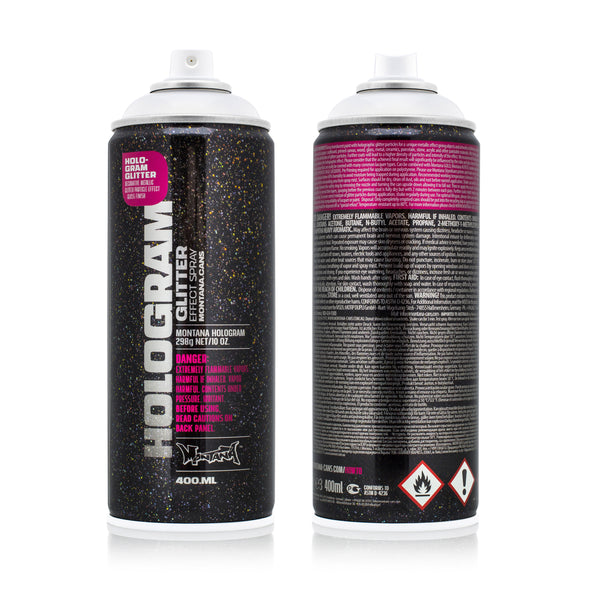 Montana Hologram Glitter Effect  400ml - Crack Kids Lisboa