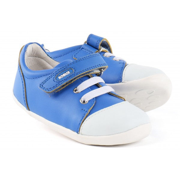Scribble Electric Blue Shoe by Bobux for Infants and Toddlers