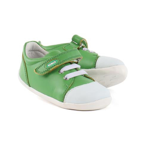 Scribble Green Apple Shoe by Bobux for Infants and Toddlers