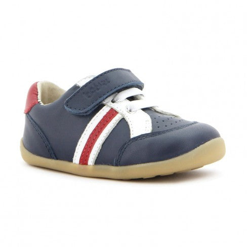 Trackside Sport Shoe in Navy by Bobux