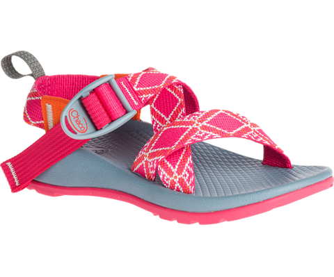 Chaco Kids Ecotread Z1 Boho Raspberry Waterproof Sandal