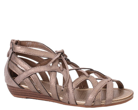 Corky's Kids Lace Gold Sandal