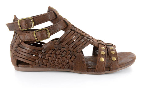 7da493d7a77208 ... Esperanza Woven Sandal by Corkys in Chocolate Distressed for Women and  Big Girls ...
