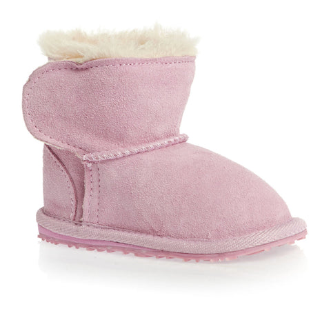 Emu: Toddler Baby Bootie Sheepskin (Pink)