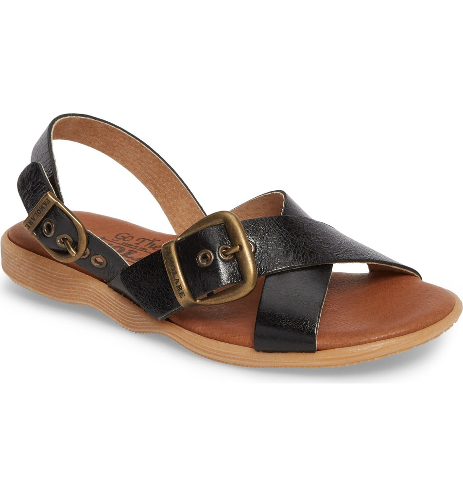 Famolare Summer Daze Sandal in Black