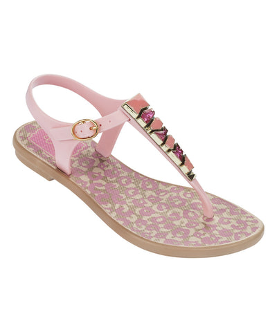 Grendha Jewel Kids Sandal Beige/Light Pink