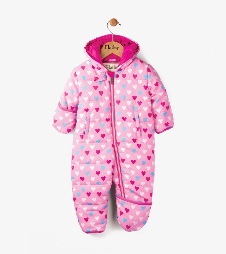 Hatley Kids Precious Hearts Winter Bundler