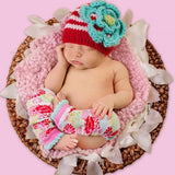Huggalugs: Beanie Hats Festive Ziggy (Red/Pink/Turquoise)