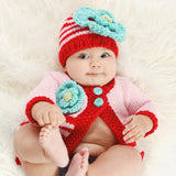 Huggalugs: Sweaters Festive Ziggy (Red/Pink/Turquoise)