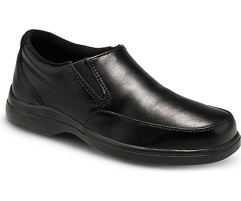Hush Puppies Shane Black Leather