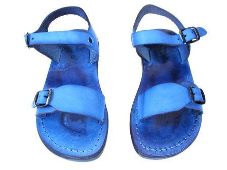 Jerusalem Sandals The Original Blue