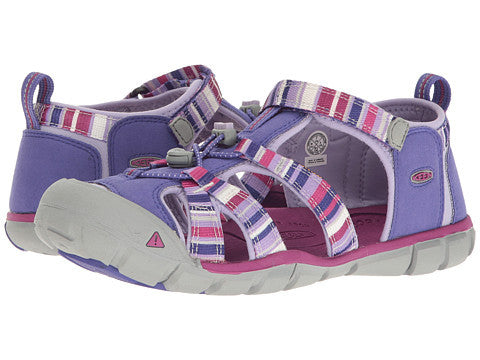 Seacamp ll CNX by Keen in Liberty Reya (Purples/Pink) For Little Girls and Big Girls