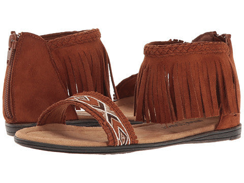Minnetonka Kids Coco Brown Sandal