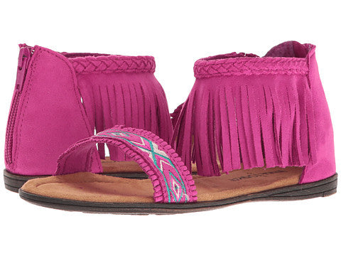 Minnetonka Kids Coco Hot Pink Sandal