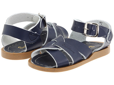 Salt Water Original Sandals in Navy for Infants and Toddlers