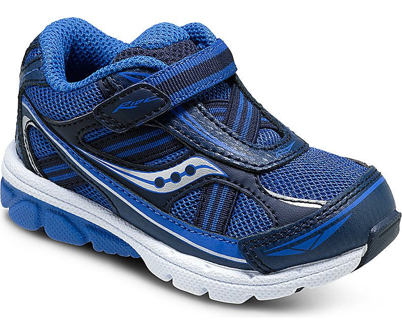 42264fdb5984 Saucony  Boys Baby Ride 7 Infant Toddler Little Kid (Royal Navy ...