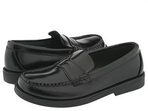 Sperry Topsider Colton Black high polish lether dress penny loafer