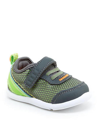 Step & Stride Inche P Sneaker Toddler Grey Machine Washable