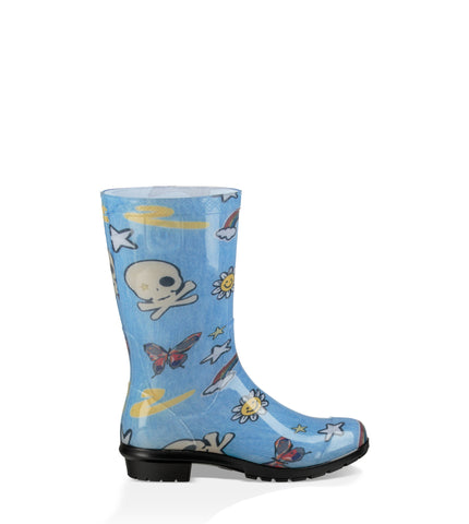 Ugg Kids Raana Patches Rain Boot Denim