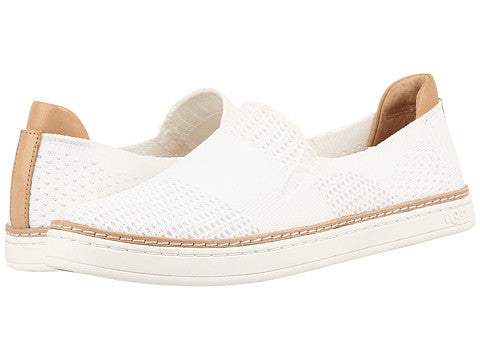 Ugg Womens Sammy Slip on White