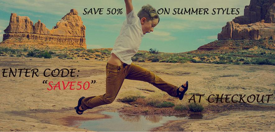 Save 20% on Chaco Sandals