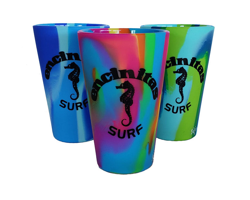Encinitas Sili Pint Glass
