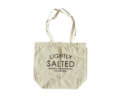 Lightly Salted Cotton Canvas Tote