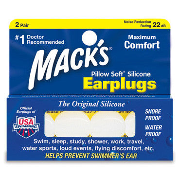 Mack's Pillowsoft Silicone Earplugs