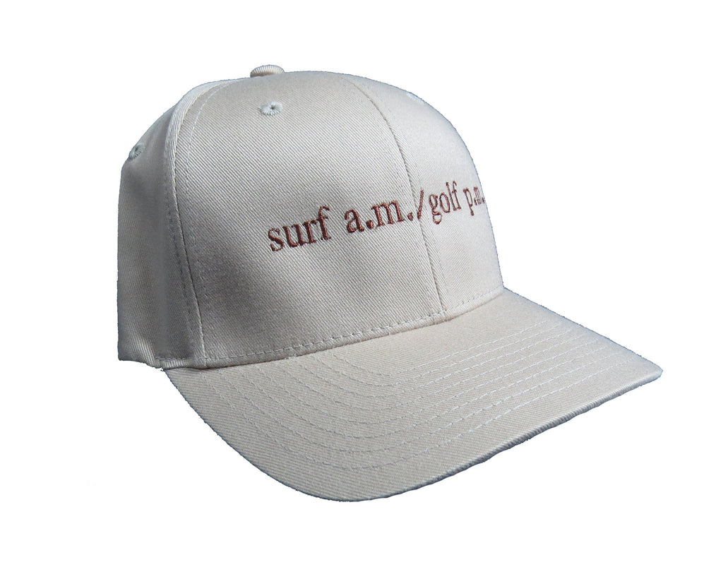 Surf A.M. / Golf P.M. Flexfit Hat
