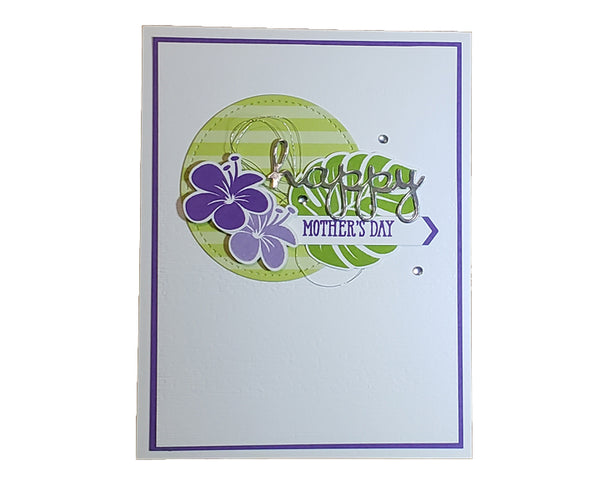 Mother's Day Plumeria Card