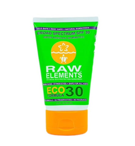 Raw Elements SPF 30+ Lotion