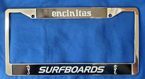 License Plate Holder (metal)