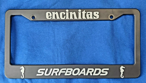 License Plate Holder (plastic)