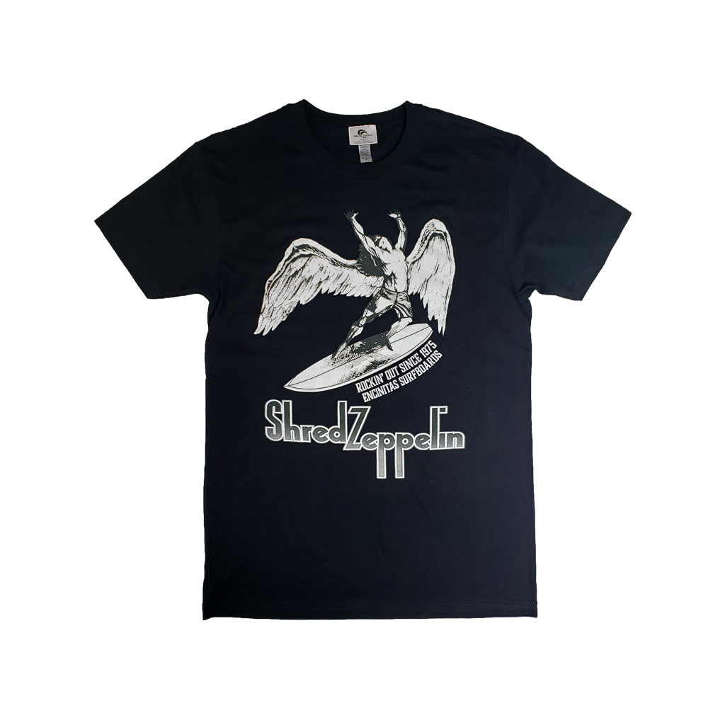 Shred Zeppelin Retro Tee
