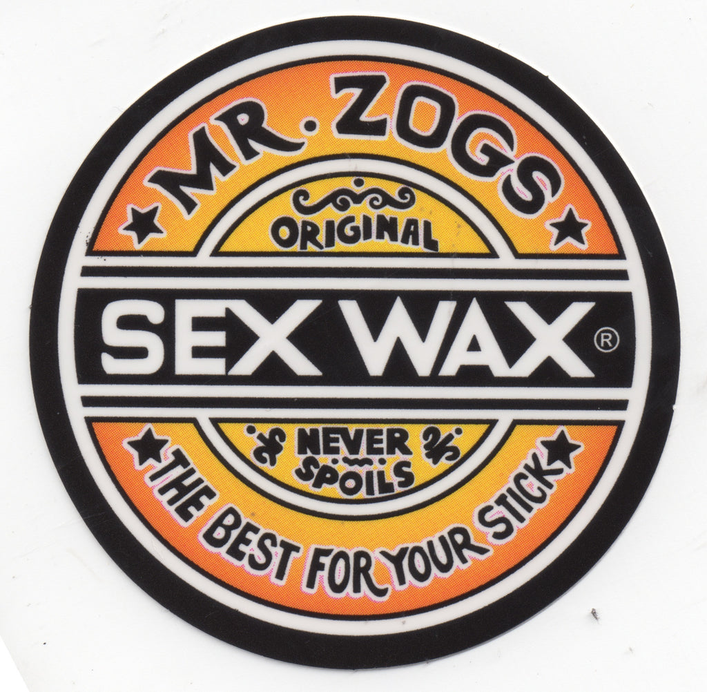 Sex Wax Sticker Fades