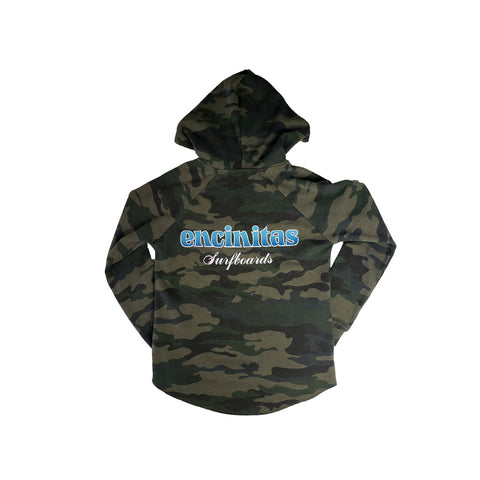 Wave Wash Pullover Hoody