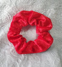 Load image into Gallery viewer, Red Velvet Scrunchie