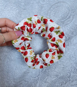 Strawberry Scrunchie
