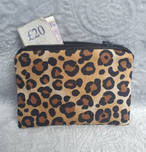 Load image into Gallery viewer, Leopard Print Coin Purse