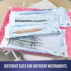 200 Self Sterilization Pouches for Cleaning Tools
