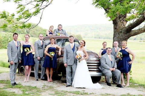 Leigha and Braxton wedding