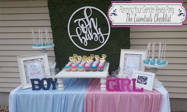 Planning Your Gender Reveal Party-The Essentials Checklist